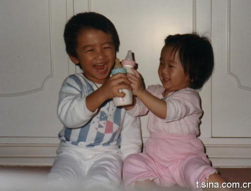 Ảnh thơ ấu của anh em Tạ Đình Phong Nicjen05