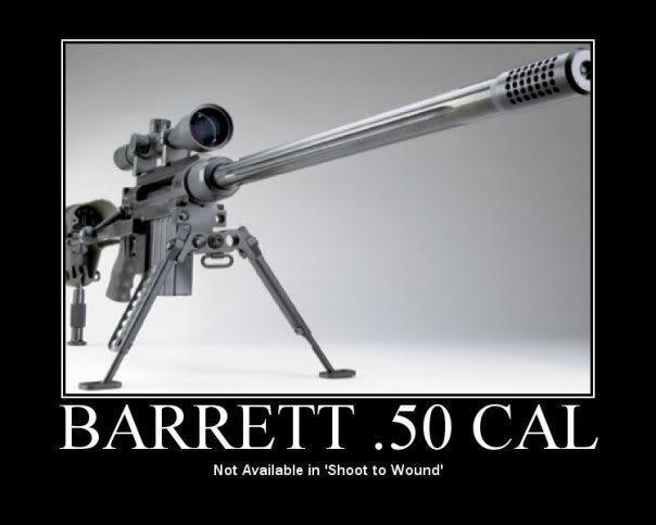 Fav. sniper rifle Barret
