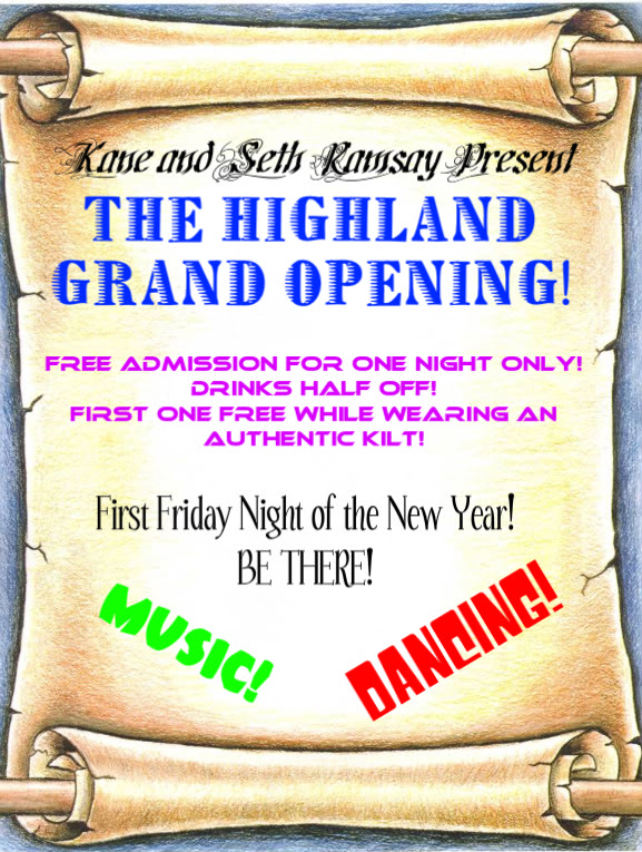 HIGHLAND GRAND OPENING! Scroll-1-1