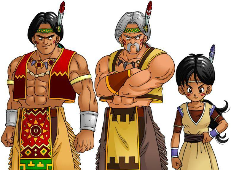 Dragon Ball Online-La trama Indios-1