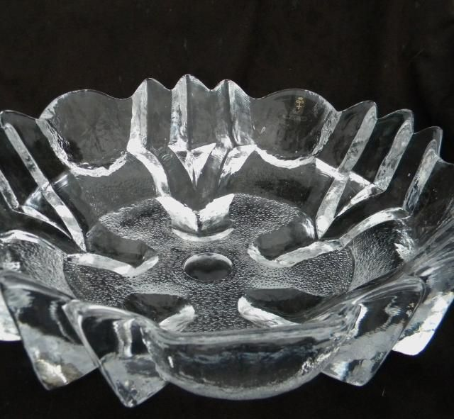 "ID HELP... Large 14"" Glass Bowl - Clear Frost Ice w design SwedenBowl0005_zpse31ed915"