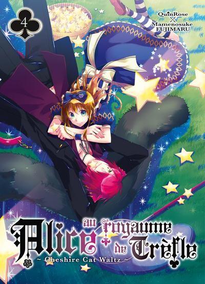 QUINROSE & FUJIMARU Mamenosuke - Alice au Royaume de Trèfle - Cheshire Cat Waltz - T.04 Alice-au-royaume-de-trefle-cheshire-cat-waltz-manga-volume-4-simple-75135