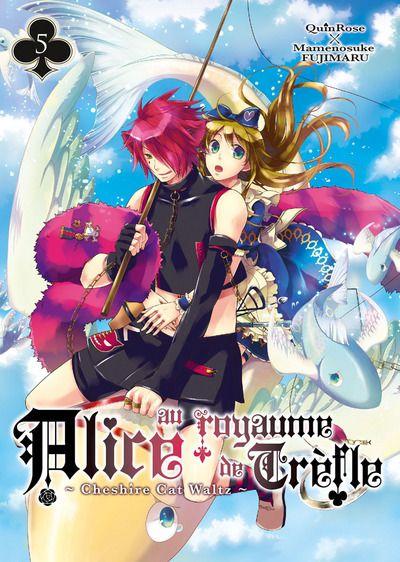 QUINROSE & FUJIMARU Mamenosuke - Alice au Royaume de Trèfle - Cheshire Cat Waltz - T.05 Alice-au-royaume-de-trefle-cheshire-cat-waltz-manga-volume-5-simple-77123