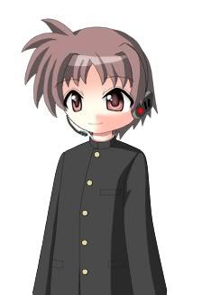 New Utauloid: Kira Hitorine Kirahalf-body