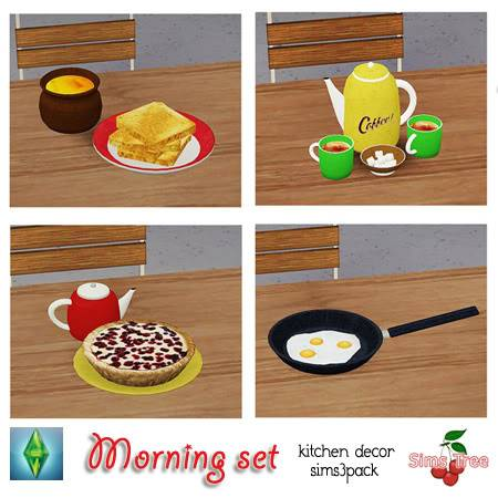 :: FINDS SIMS 3: JUNIO - 2010 :: SimsTree20morning20decorative20set