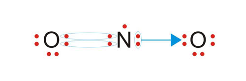 Nox e distribuição eletrônica. No2