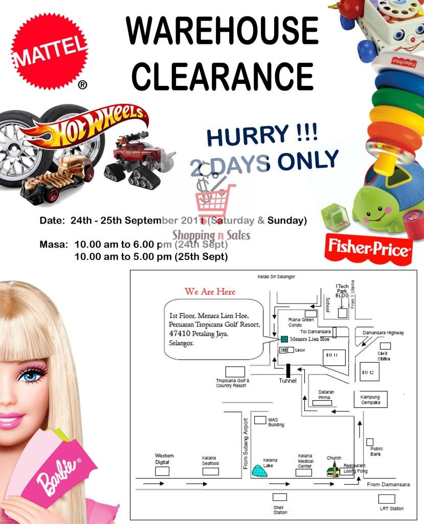 Mattel Warehouse Sale - 24 & 25 Sept 2011 20110924-Mattel-Warehouse-Clearance