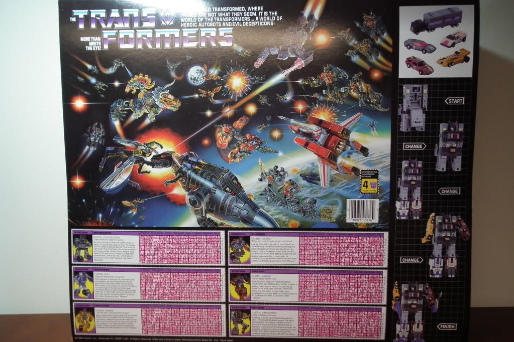 Collection de Braveheart: Venez voir mon musé personnel de Transformers - Page 6 DSCF3572