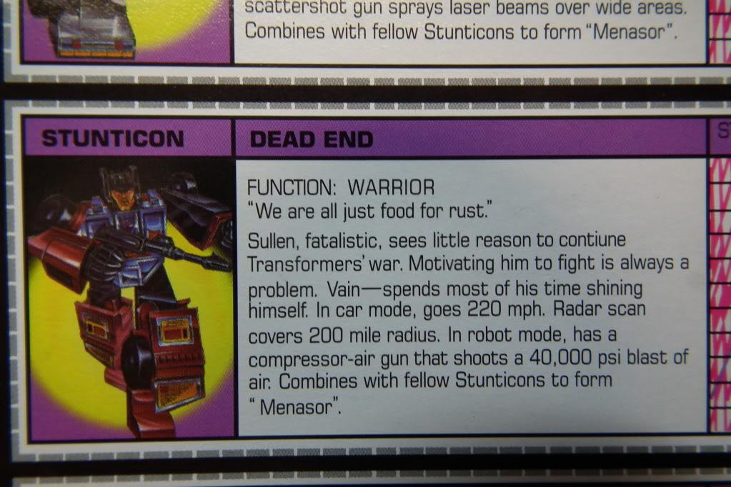 Collection de Braveheart: Venez voir mon musé personnel de Transformers - Page 6 DSCF3577