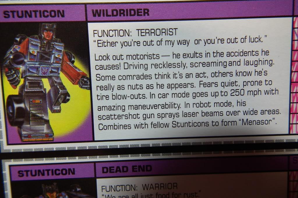 Collection de Braveheart: Venez voir mon musé personnel de Transformers - Page 6 DSCF3578