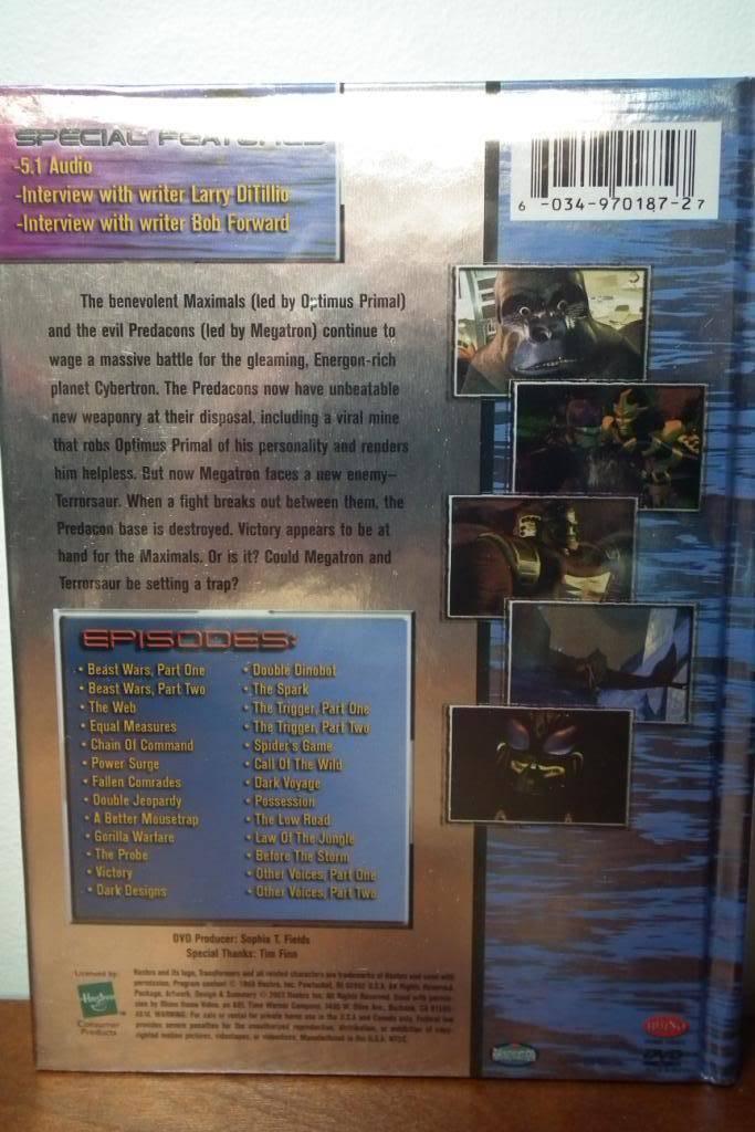 Collection de Braveheart: Venez voir mon musé personnel de Transformers - Page 4 DSCF2427