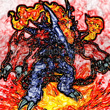 Just Thought I'd Share a few artwork ive produced VolcanicDoomfire1