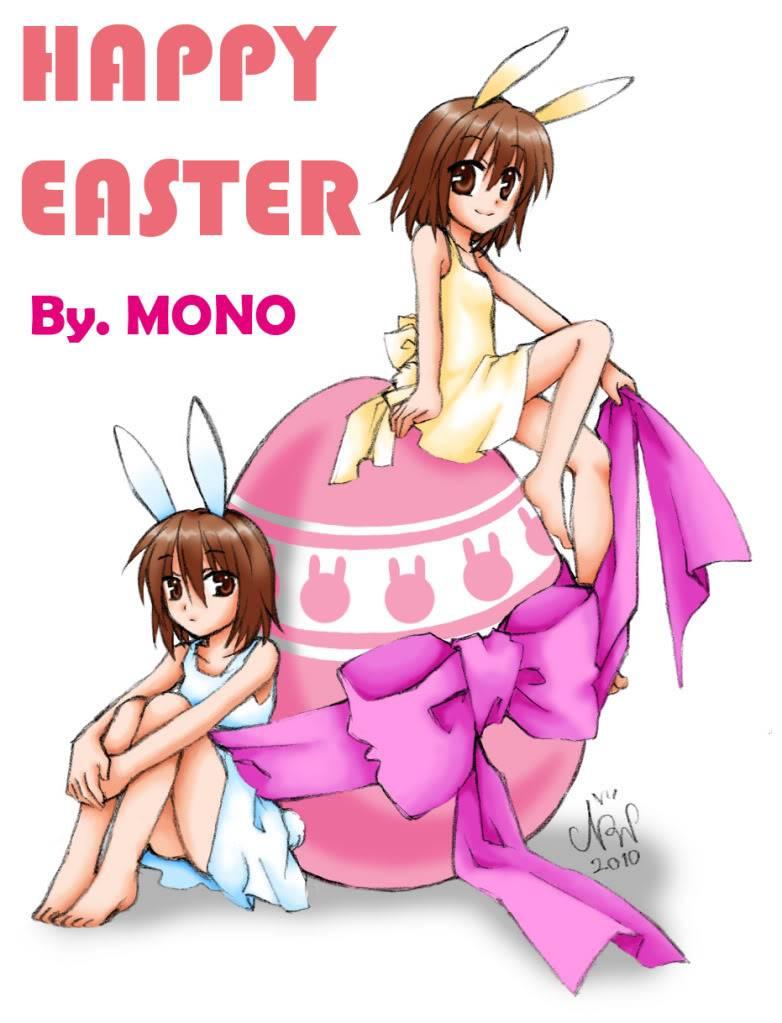 [คลัง] MONO's Gallery อัพ ปกโด K-ON!!(11/12/10) Easter2010