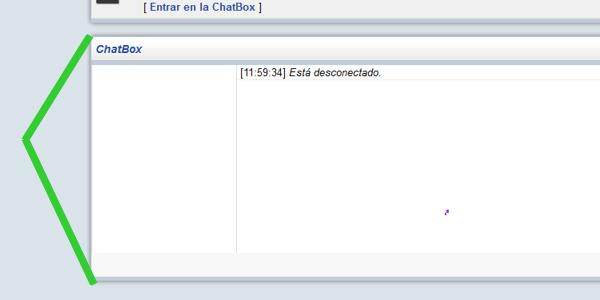 como se ase mas angosto el chatbox Chatbox