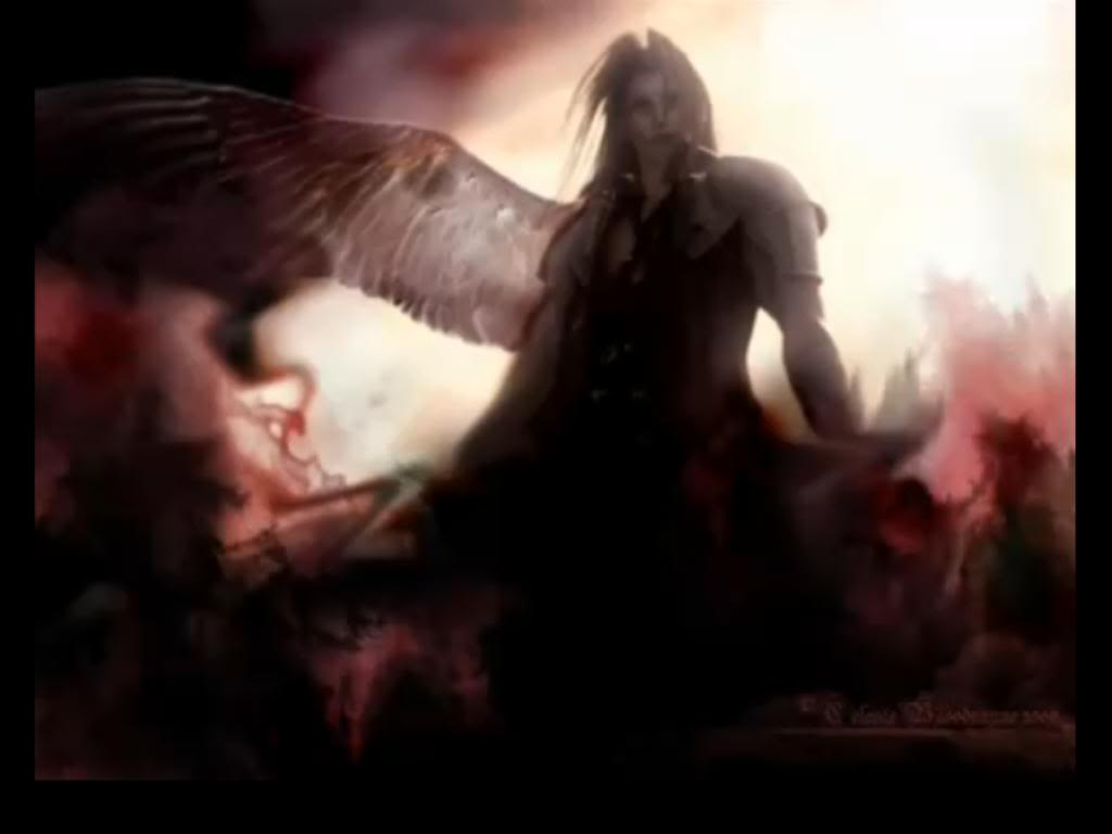 Angels can have One Wing Sephiroth-1