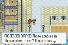 Zombies? In my Hoenn?! Pokemon Snakewood LP PokemonRuby_43