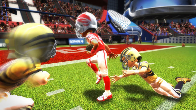 Xbox Kinect => Fracture! KinectSports2Football