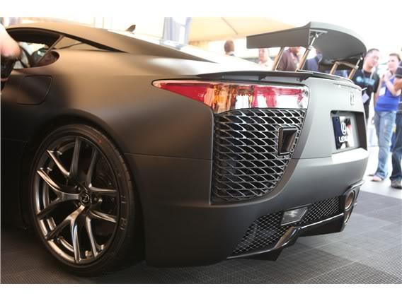 Lexus LFA Matte_black_lexus_lf_a_sema_2009_24-568-426