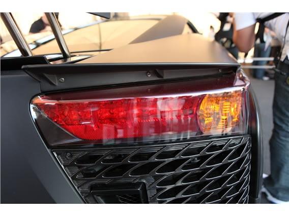 Lexus LFA Matte_black_lexus_lf_a_sema_2009_26-568-426