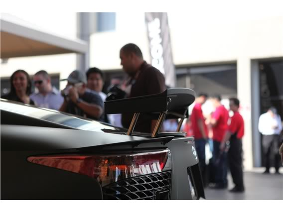Lexus LFA Matte_black_lexus_lf_a_sema_2009_52-568-426