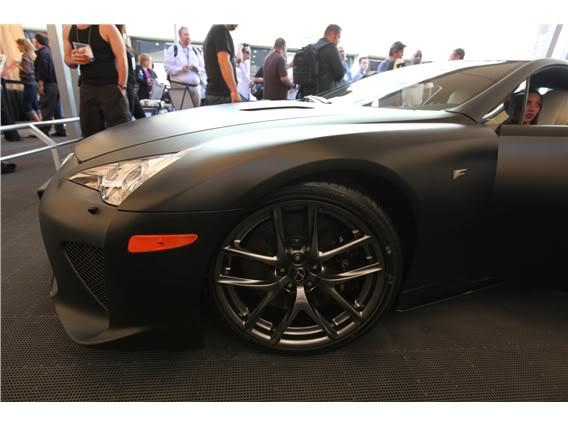 Lexus LFA Matte_black_lexus_lf_a_sema_2009_7-568-426