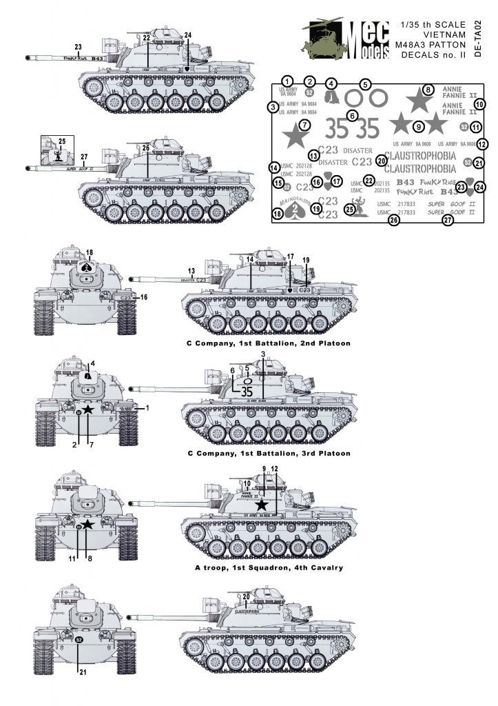 Marking your Vietnam M48A3 M48DE-TA02OVERZICHT_zpsbff8cf33