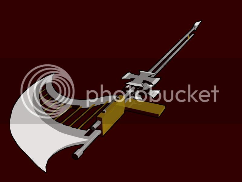 [Character CF2] Red Romanov - Complete MoonlightWeapon