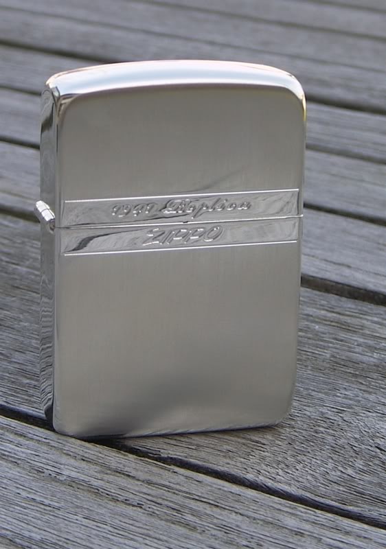 Collection Zippo Japon de flateric 1941silver3