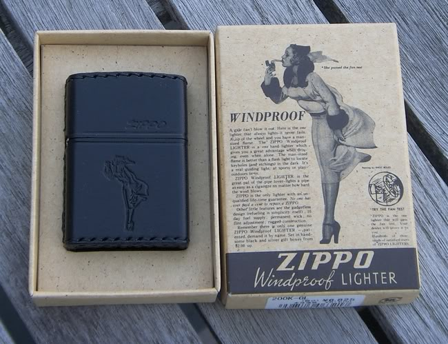 Collection Zippo Japon de flateric Leather1