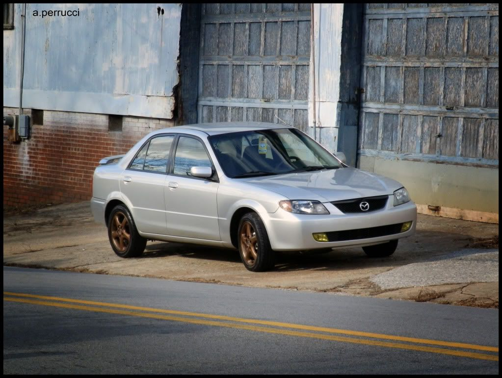 Its a Mazda - Page 2 Frontfromstreet