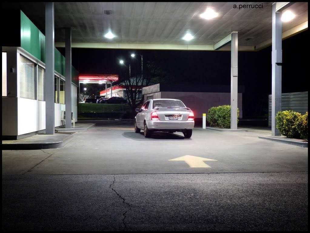 Its a Mazda Nicegasstation