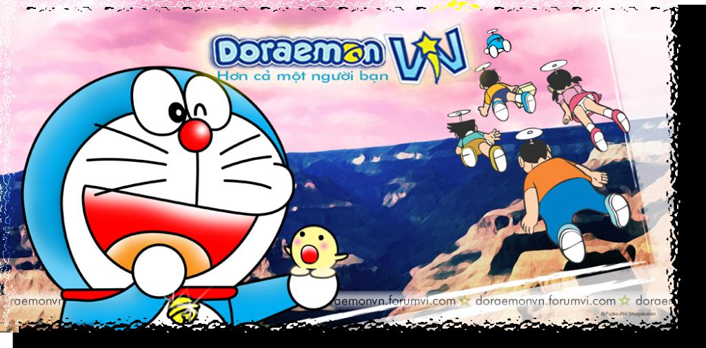 Mọi người ủng hộ 4rum của tớ nha DoraemonVNBanner2