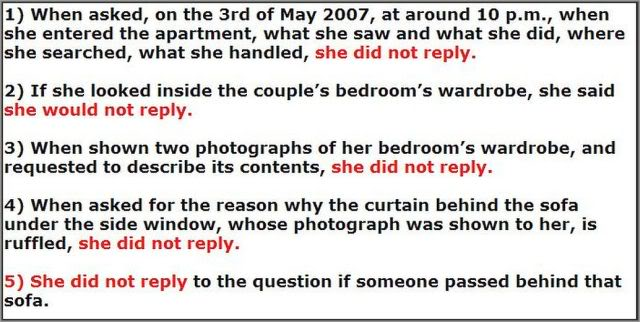 MCMINUTE video: Why didn't Kate McCann answer these 48 QUESTIONS? Images added 1-5b640