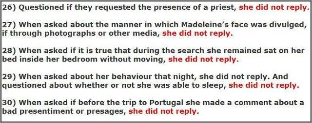 MCMINUTE video: Why didn't Kate McCann answer these 48 QUESTIONS? Images added 26-30b640