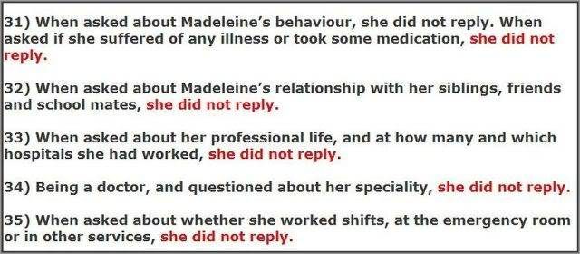 MCMINUTE video: Why didn't Kate McCann answer these 48 QUESTIONS? Images added 31-35b640