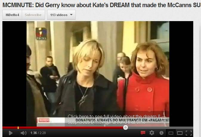 VIDEO - Was Gerry ANGRY with Kate as her DREAM led to them becoming SUSPECTS? Woman2