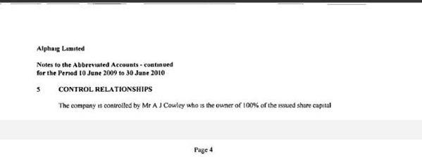 Arthur Cowley`s company Ac4