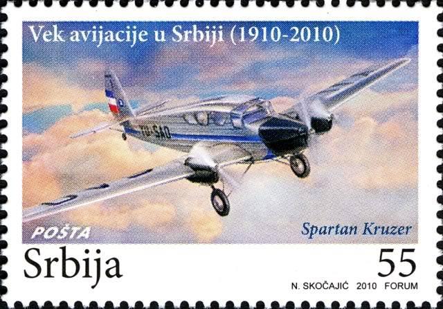 Vazduhoplovi na poštanskim markama RS04910