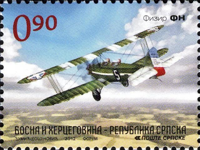 Vazduhoplovi na poštanskim markama XH02312