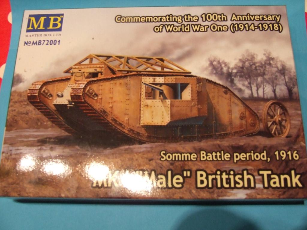 "MK1 ""Male"" British Tank (1/72 Master Box LTD) DSCF8991"