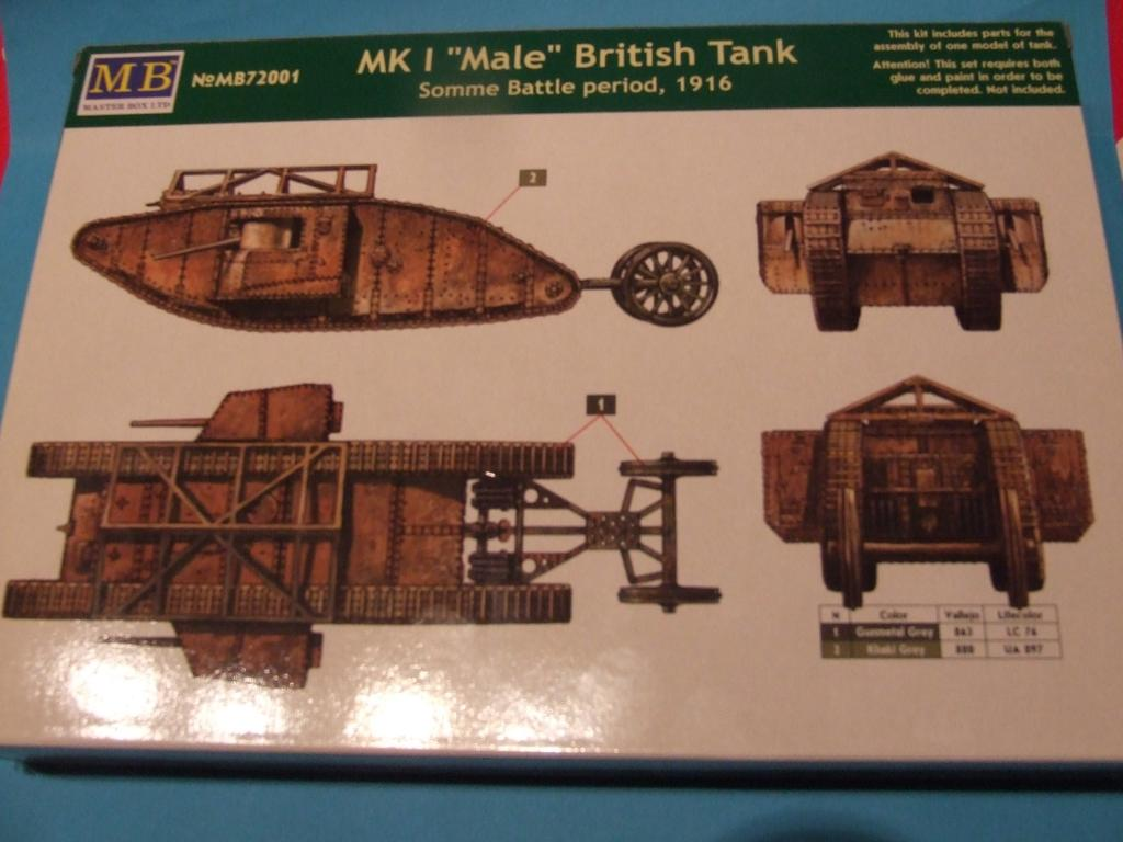 "MK1 ""Male"" British Tank (1/72 Master Box LTD) DSCF8992"