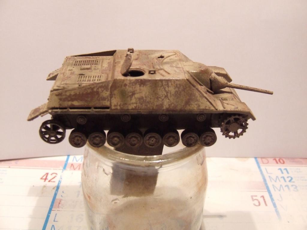 Jagdpanzer en piteux état (Dragon 1/72) Photo001