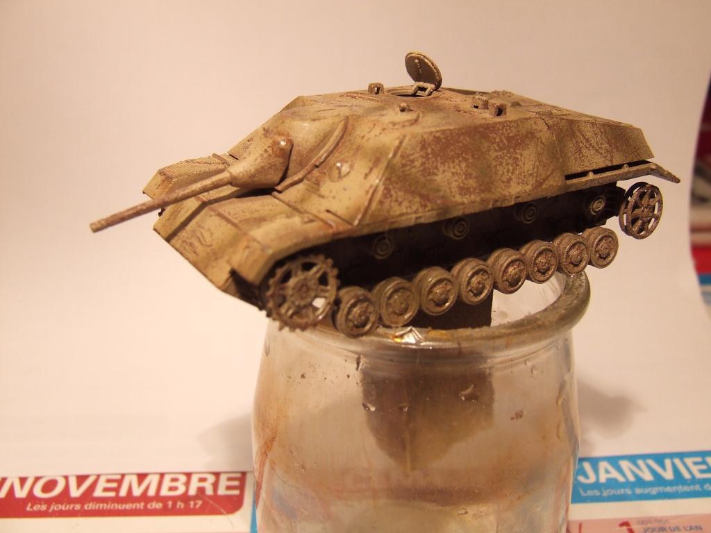 Jagdpanzer en piteux état (Dragon 1/72) Photo013