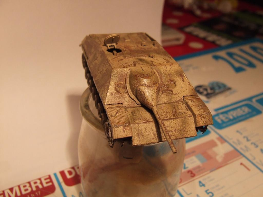 Jagdpanzer en piteux état (Dragon 1/72) Photo015