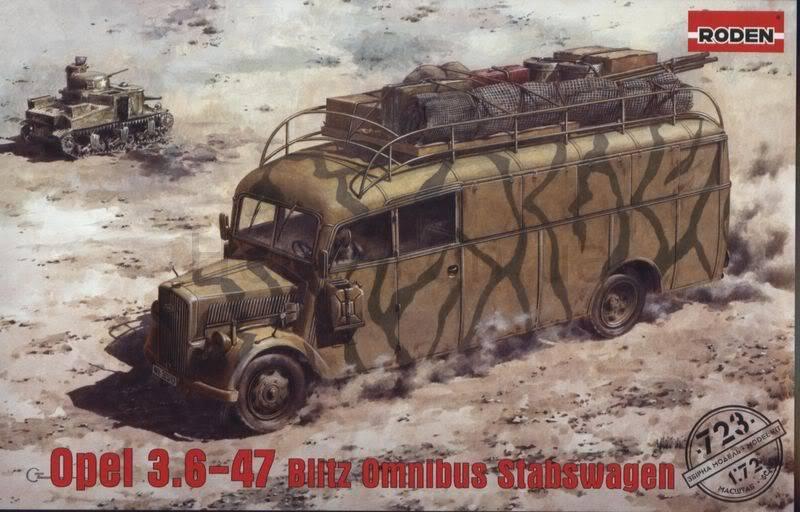 blitz - Opel Blitz Omnibus (Roden 1/72) 723