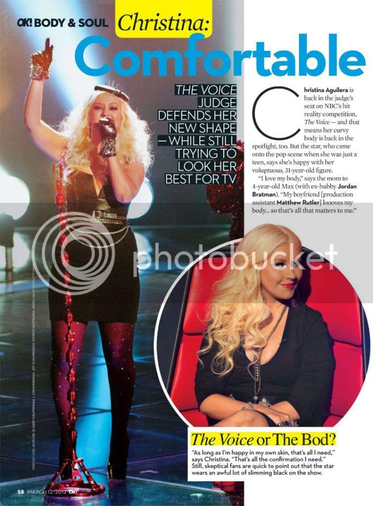 [Scans] OK Magazine! - Christina Aguilera Comfortable With Her Curves (12/Mar/12) Ok-2012-03-12-mar1-60