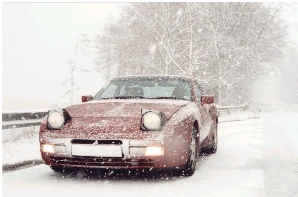 Porsche en hiver - Page 3 Snow