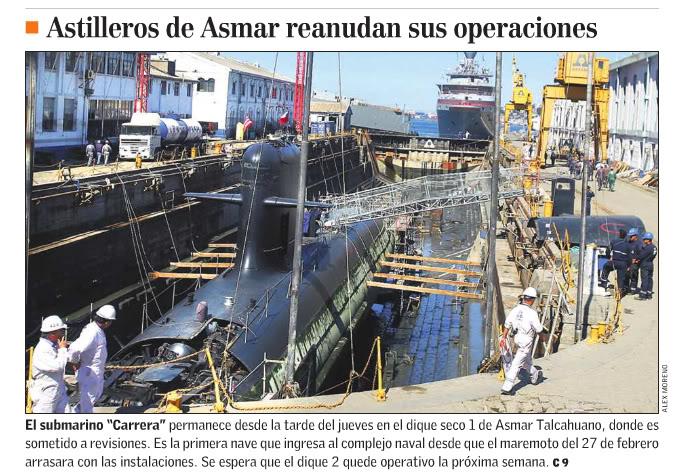 Armée Chilienne / Chile's armed forces / Fuerzas Armadas de Chile - Page 3 Carera