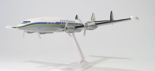 Vand machete avioane civile (multe raritati) L1049SCLufthansa