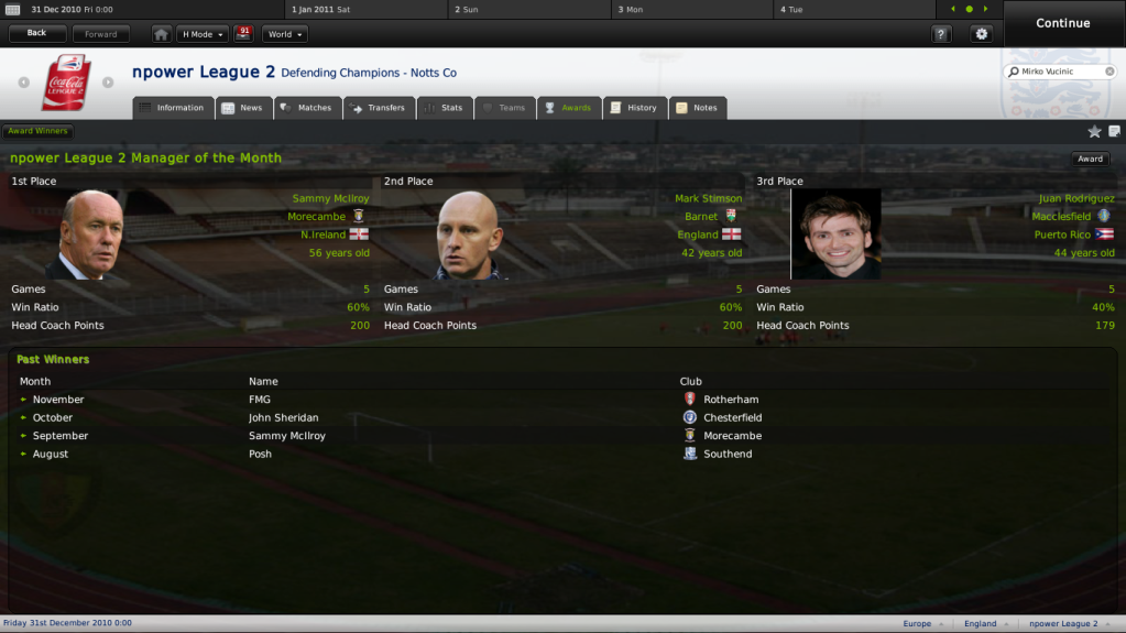 manager - nPower League 2 Managers Challenge NpowerLeague2Awards_AwardWinners-2